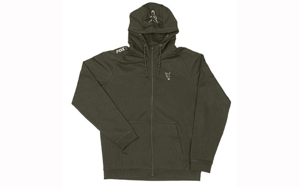Fox Collection Silver Green Lightweight Hoodie