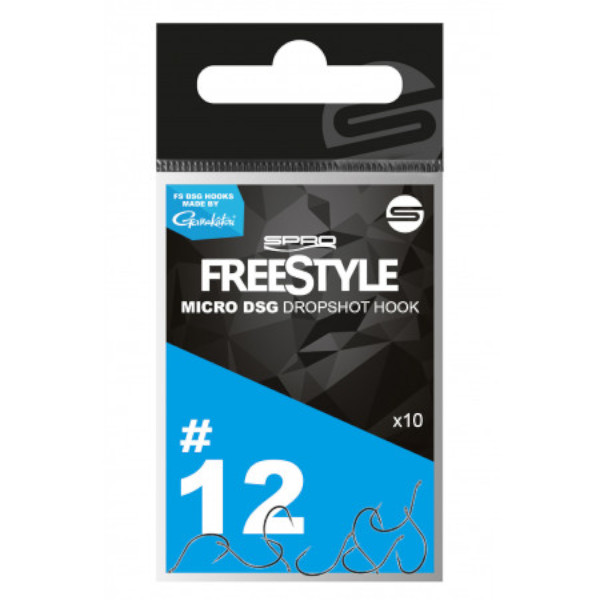 Spro Freestyle DSG Micro Hook 10 st.