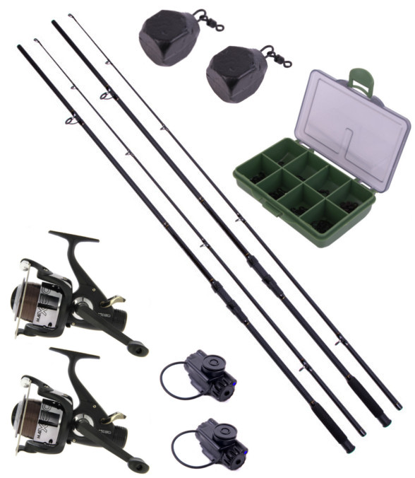 Ultimate 2-Rod Stalker Set incklusive end-tackle