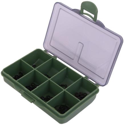 Ultimate Carp-Kit 80-teilig mit Rig Rings, Wirbeln, Maggot Clips und mehr!
