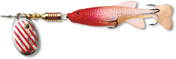 Zebco Minnow Flyer - Silver/Red