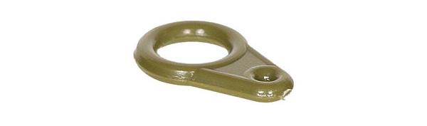 Solar Easy Glide Run Rings Green, 10 Stück!